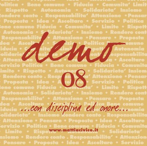 Demo 08 - copertina